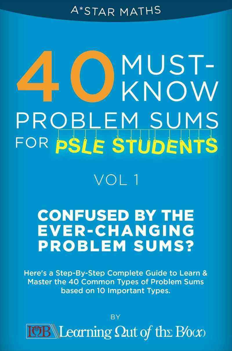40 Must See September Magazine Covers From 18 Different: 40 Must-Know Problem Sums (Volume 1 Out Of 5) *For P5/6