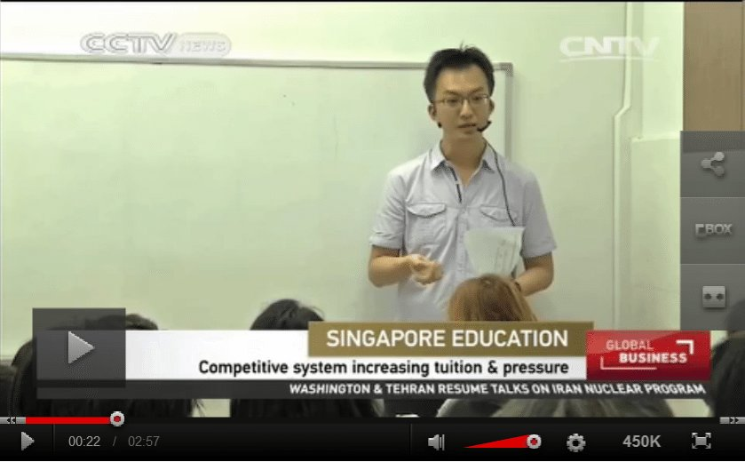 CCTV News Maths Tuition TV Interview By Miro Lu